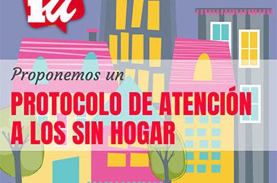 IU Collado Villalba propone un protocolo de atención para las personas sin hogar