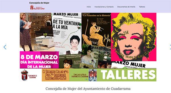 La Concejalía de Mujer de Guadarrama renueva su imagen y talleres