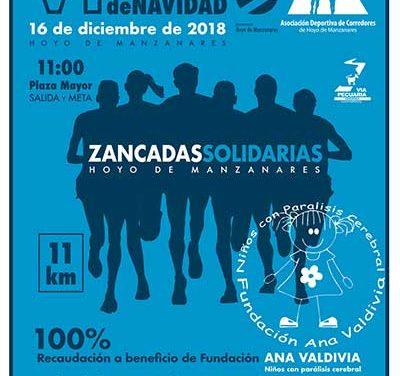 Zancadas solidarias corre por la Fundación Ana Valdivia