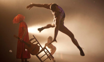 El espectáculo de danza Estrellados, en el Teatro Jacinto Benavente