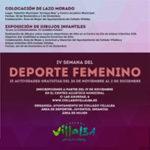 Semana del Deporte femenino en Collado Villalba