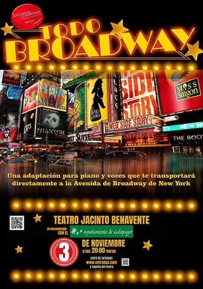El espectáculo musical Todo Broadway, entre las citas culturales de Galapagar
