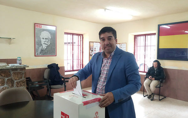 Alberto Gómez Martín, candidato del PSOE a la Alcaldía de Galapagar