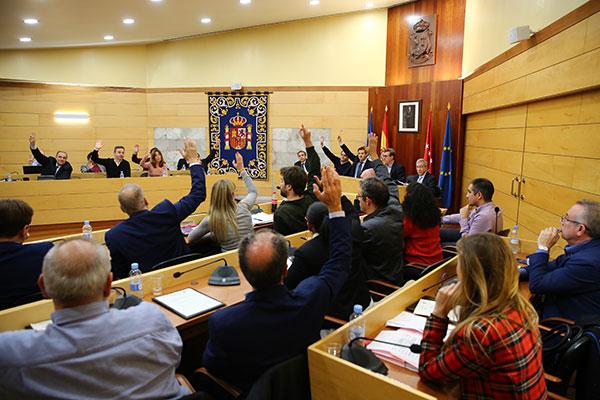 Bajada de impuestos en el Ayuntamiento de Las Rozas
