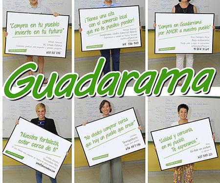 Campaña para fomentar el comercio local en Guadarrama
