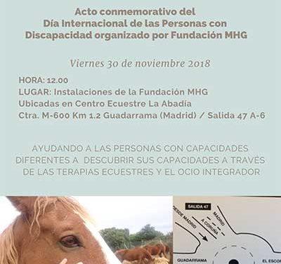 La Fundación MHG organiza una jornada por el Día Internacional de la Discapacidad