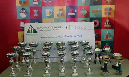 La Fundación Ana Valdivia recibe 6.000 euros de Zancadas solidarias