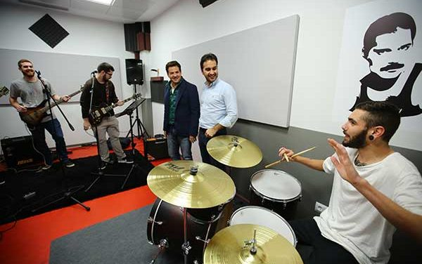 Los músicos roceños ya tienen locales de ensayo