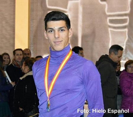 El guadarrameño Héctor Alonso, campeón de España de patinaje artístico