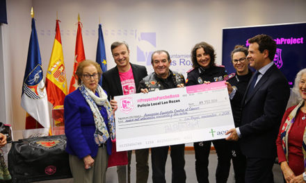 El #ProyectoParcheRosa recauda casi 10.000€ para la AECC