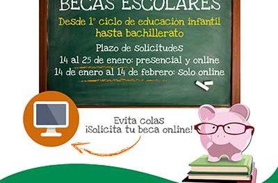 Comienza el plazo para solicitar becas escolares en Galapagar