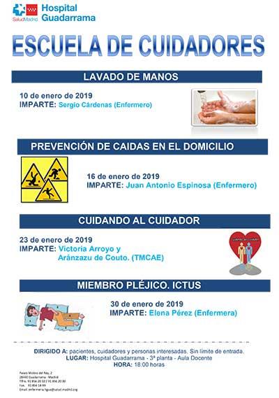 Escuela de Cuidadores del Hospital de Guadarrama