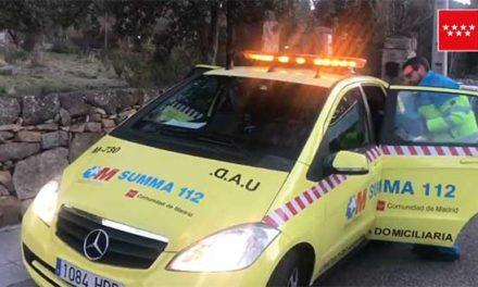 Un menor fallece tras ser atropellado por un tren en Collado Mediano