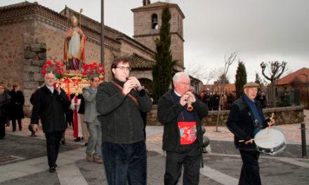 La Cofradía de San Blas celebra su festividad en Collado Villalba