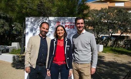 Reyes Maroto presentó al candidato socialista de Torrelodones