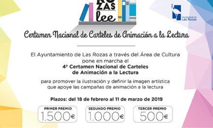 """Certamen de Carteles """"Las Rozas lee"""""""