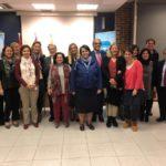 Van Grieken y Vargas se reúnen con la comunidad educativa de Collado Villalba
