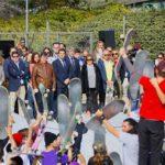 El presidente, Ángel Garrido, y el alcalde, José de la Uz, inauguraron las nuevas pistas Ignacio Echeverría