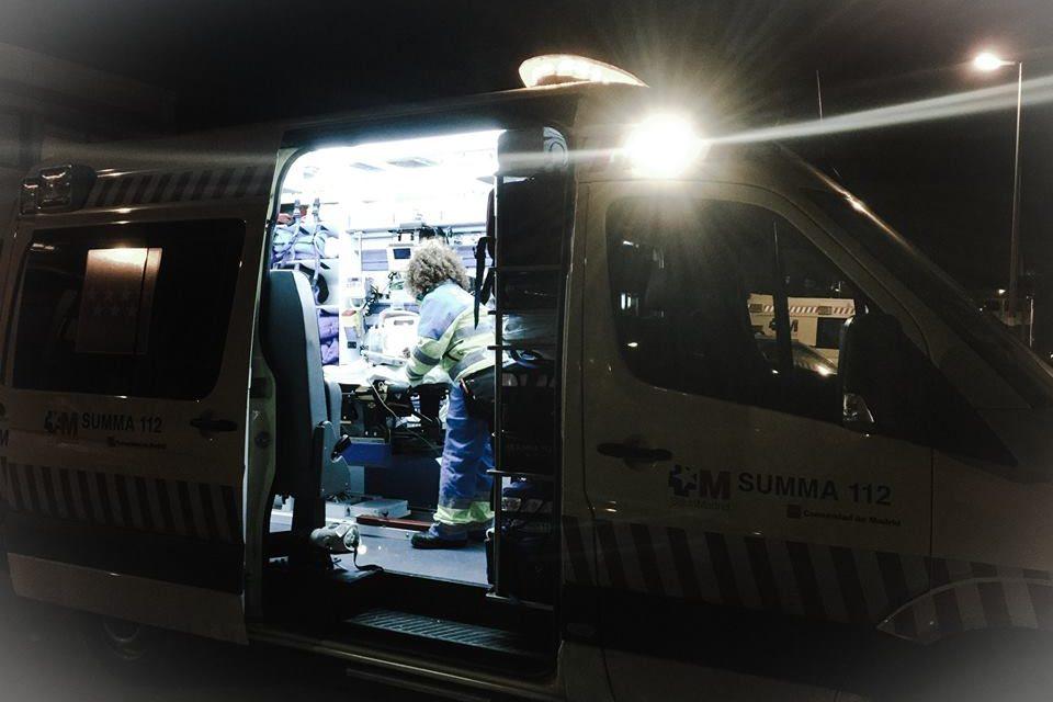 Conductor huido tras atropellar a una mujer en Las Rozas