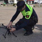 Un dron para vigilancia y seguridad en Collado Villalba