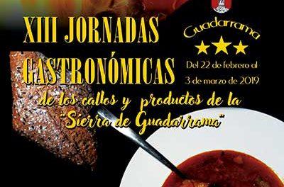 Jornadas gastronómicas de Guadarrama con callos y productos de la sierra, como protagonistas