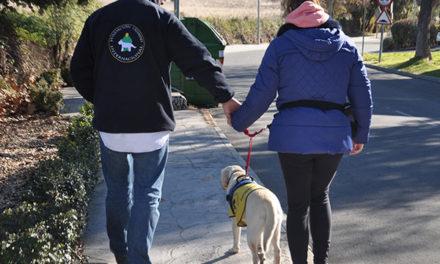 Galapagar colabora con la Fundación Canadd Internacional para proporcionar un perro de asistencia a enferma de Alzheimer