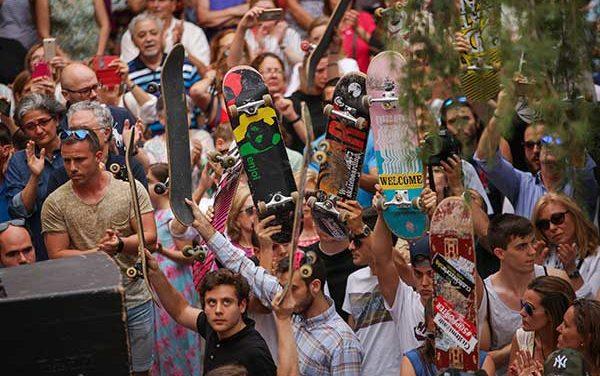 Las pistas Ignacio Echeverría se inauguran con un campeonato de Skate
