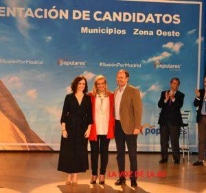 candidatos del PP de la zona oeste
