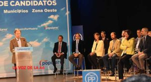 candidatos del PP zona oeste