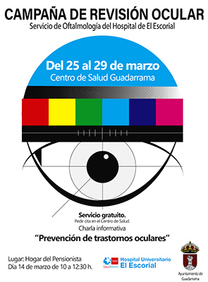 campaña de revisión ocular