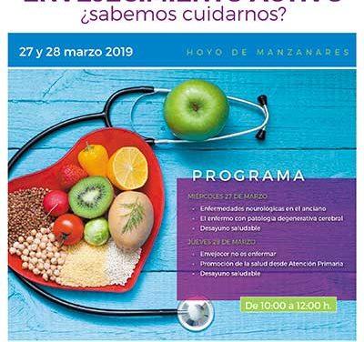 El envejecimiento activo centra las III Jornadas de Salud, Alimentación y Deporte en Hoyo de Manzanares