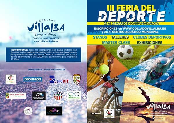 III Feria del deporte