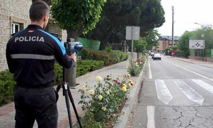 Comienza la campaña de control de velocidad en Galapagar