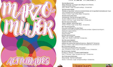 Día de la Mujer en Guadarrama: conferencias, teatro, cine y deporte