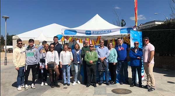 El Partido Popular de Collado Villalba recoge propuestas entre los vecinos