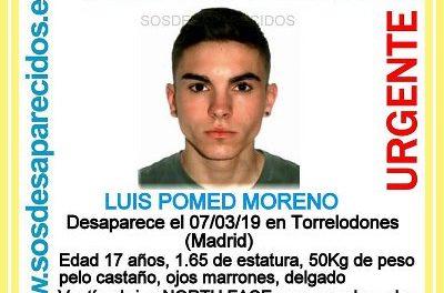 Buscan a Luis Pomed, desaparecido por la zona de Torrelodones