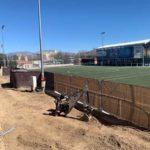 El campo de fútbol 7 de Galapagar contará con gradas