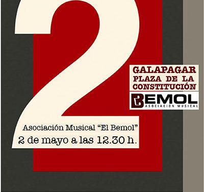 La Banda El Bemol celebra el 2 de Mayo en Galapagar