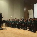 Dos coros del colegio San Ignacio de Loyola logran el segundo y tercer puesto en el Concurso regional