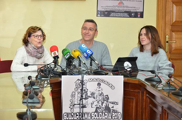 Gala solidaria de artes marciales en Guadarrama