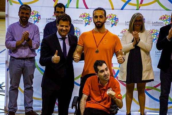 Javier Martínez Fernández-Aceytuno participa en el Open Mundial de Boccia