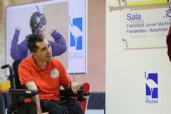 Javier Martínez Fernández –Aceytuno, medalla de oro en la liga madrileña de Boccia