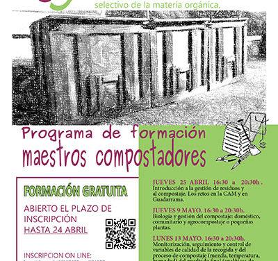 Guadarrama composta, un programa de formación para recogida de materia orgánica