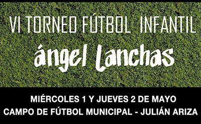 VI edición del Torneo de fútbol infantil Ángel Lanchas, en Torrelodones