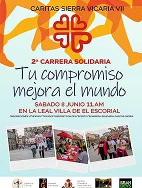 Cáritas organiza una Carrera solidaria en El Escorial