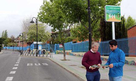 """""""Seguros al cole"""", campaña informativa para garantizar un camino tranquilo a los escolares de Galapagar"""