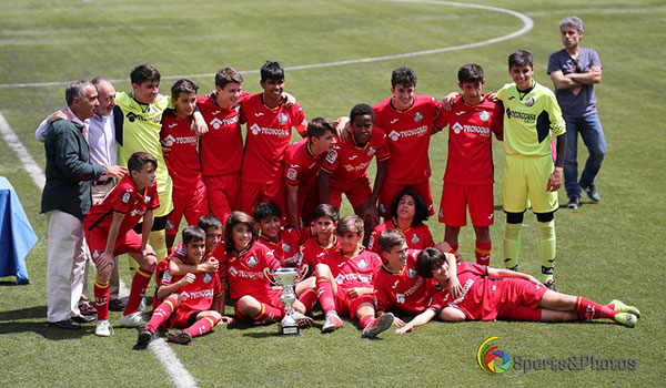 Los infantiles del CF Getafe ganan el Torneo Ángel Lanchas