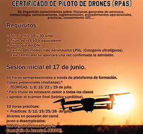 Aprender a pilotar drones, gracias al Sejuve
