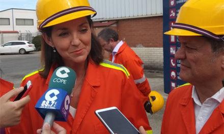 """Reyes Maroto: """"Collado Villalba está en el mapa de la España industrial"""""""