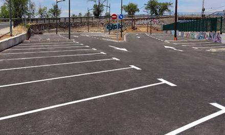 Abre al público el aparcamiento de la estación de La Navata